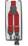 RED CONVERTIBLE END SUSPENDERS BY BRAND Q