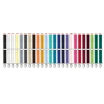 LUXURY COLLECTION ELASTIC CLIP-ON SUSPENDERS - ASSORTED COLORS