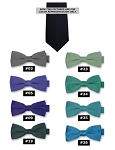CLASSIC POLY SATIN LONG TIE - ASSORTED COLORS CLOSEOUT