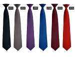 SEGAL RICH SATIN 4-IN-HAND STRAIGHT TIE - ASSORTED COLORS