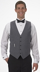 SEGAL GREY DURAWEAR SERVER VEST - MEN'S