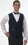 SEGAL NAVY DURAWEAR SERVER VEST - MEN'S