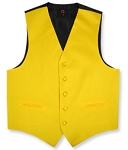 GOLD BRAND Q SATIN VEST SET (VEST, LONG TIE, HANKIE)