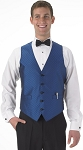 SEGAL FIESTA FULL BACK VEST - MEN'S ROYAL