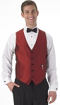 SEGAL FIESTA FULL BACK VEST - MEN'S RED