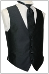 DYNASTY I FULL BACK VEST - BLACK