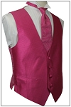 DYNASTY I FULL BACK VEST - FUCHSIA