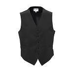 TUXEDO PARK BLACK LUXURY SATINS FULL BACK VEST
