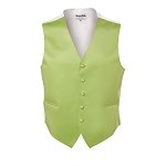 LIME LUXURY SATINS FULL BACK VEST