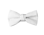 "NEIL ALLYN ""CLASSIC"" WHITE PIQUE BOW TIE"