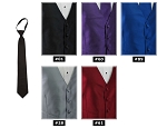 EXPRESSIONS PRE-TIED WINDSOR TIE - ASSORTED COLORS