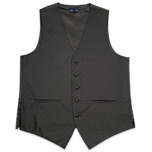 Men's Black Marquis Vest #VT150V-01