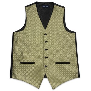 Men's Gold Marquis Vest #VT150V-14