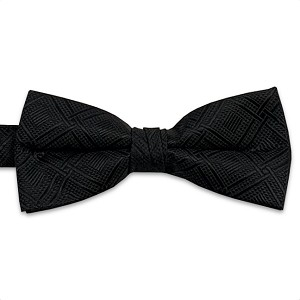 Black Marquis Bow Tie #BT150T-01