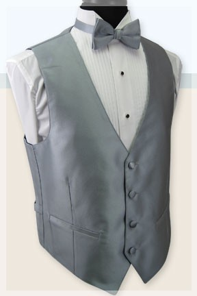 EXPRESSIONS FULL BACK VEST - BALI SILVER