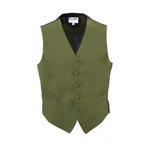 CLOVER LUXURY SATINS FULL BACK VEST